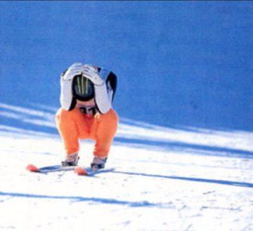 スキージャンプの想い出